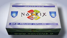 confezione kit test sensibilità al glutine e celiachia natrixlab