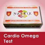 kit cardio omega test