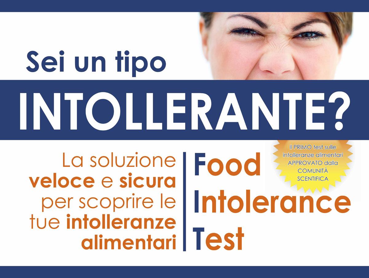 Campagna test intolleranze alimentari