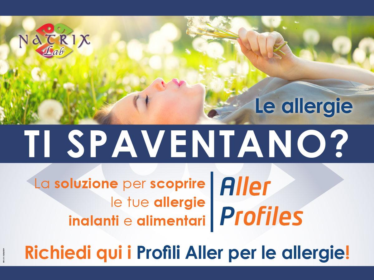 Campagna test allergie alimentari e respiratorie