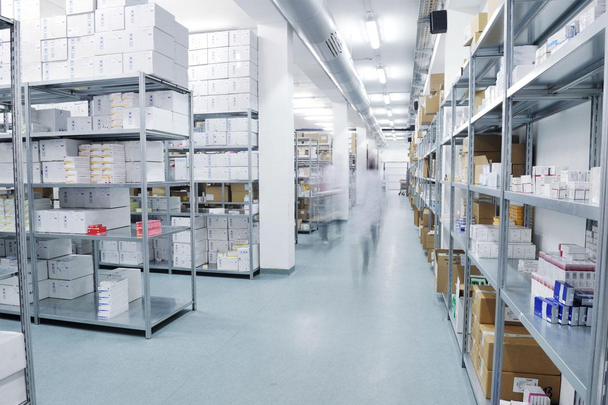 magazzino per proporre servizi alle farmacie