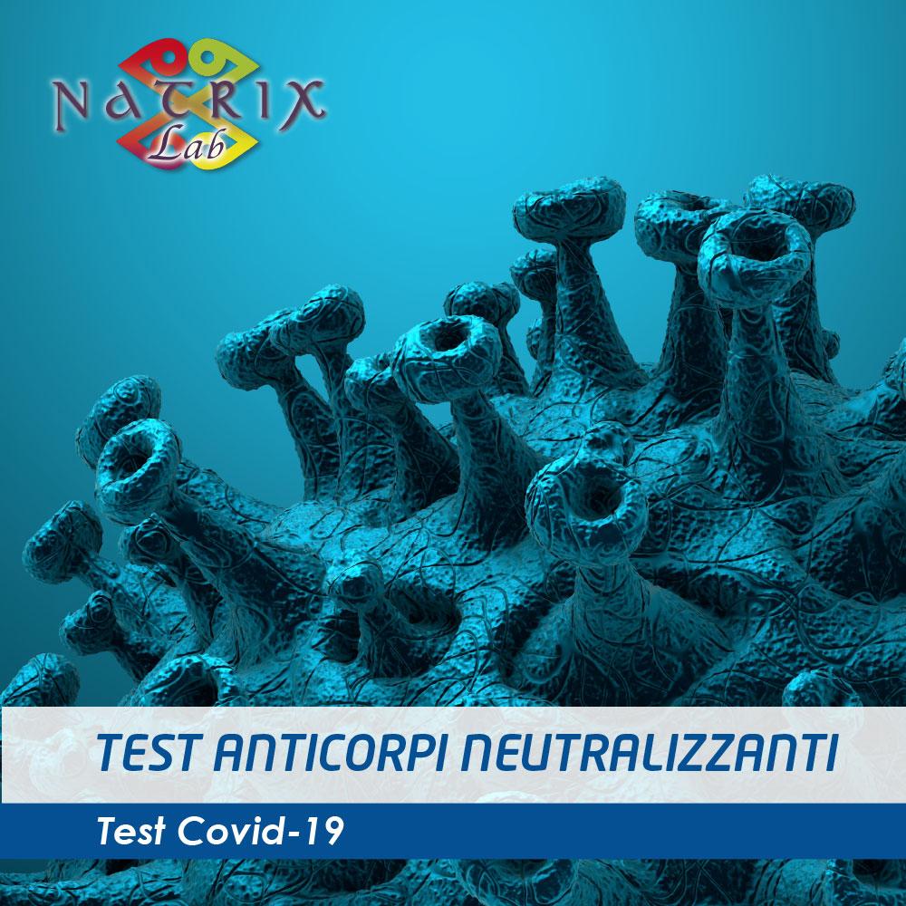 copertina test anticorpi neutralizzanti